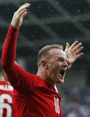 Slovenia rystet England b�de en og to ganger. S� sto Rooney fram