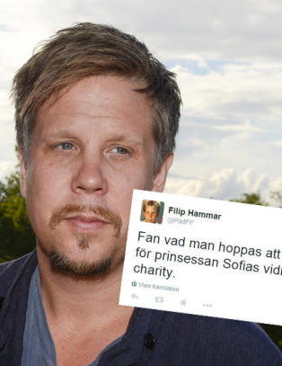 Svensk programleder: - H�per alt g�r til helvete for prinsessen