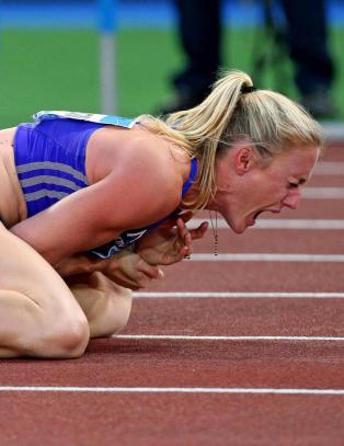 Etter skrekkfallet: - Min f�rste tanke var at n� m� jeg delta i Paralympics