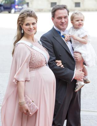 Prinsesse Madeleine har f�dt en s�nn