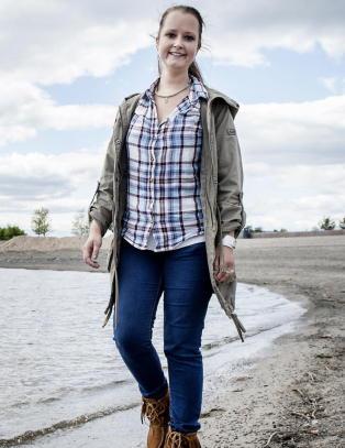 Sosial angst: I lange perioder v�get ikke Mari (27) seg ut av huset