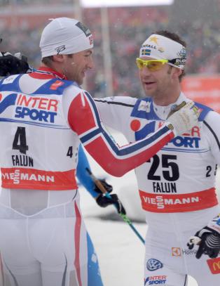 S� glad i sporten at de ikke vil boikotte Petter
