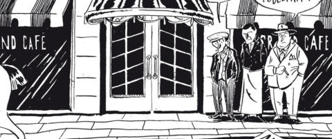 �Gulosten� er en str�lende tegneserie om en kriminell krigshelt