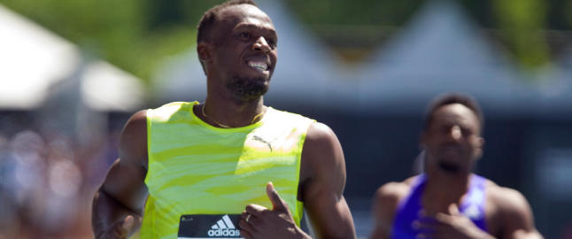 Bolt l�per VM-uttak i Jamaica