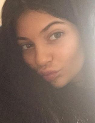 Kylie Jenner hylles av millioner for dette bildet