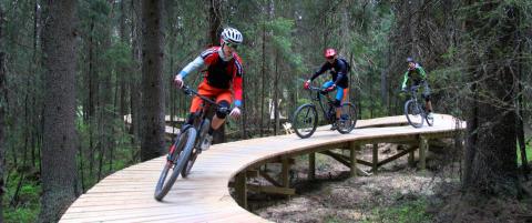Bruker ti millioner p� sykkelstier i Trysil