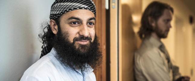 Ubaydullah Hussain: - Aktor pr�vde � inkriminere meg