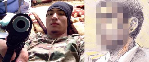 Tiltalte (24) til IS-skarpskytter: - Skal sende deg en video. Hva vi gj�r med tystere her nede. Snitchuation