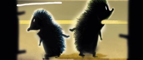 Anmeldelse: Hilde Kramers illustrasjoner l�fter den sm�s�te pinnsvinboka mange hakk