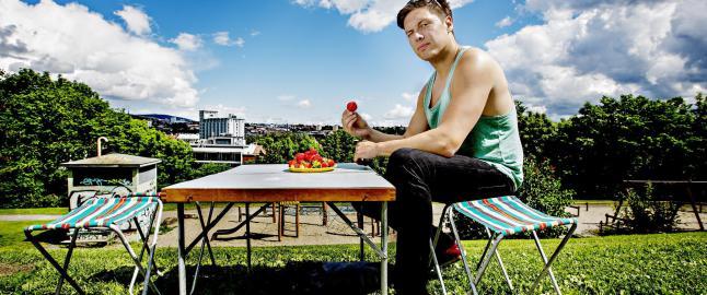 Andreas risikerer livet p� TV