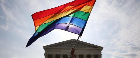 USAs h�yesterett gir gr�nt lys for homoekteskap