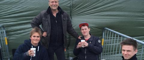 Nordmenn f�rst i k�en p� Roskilde-festivalen