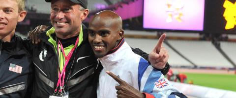 Farah fortsetter med den dopinganklagede treneren Salazar
