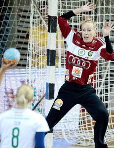 Larvik m�ter keeper-Katrine i mesterligaen