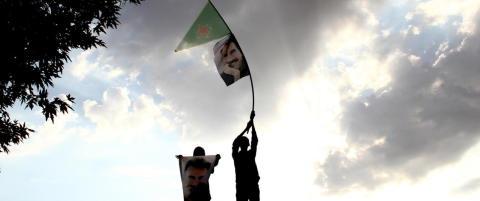 Kraftig eksplosjon rammet Kobani