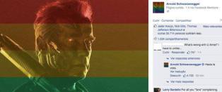 Arnold satte Facebook-homofob ettertrykkelig p� plass
