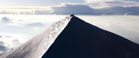 Alle tror Mont Blanc ligger i Frankrike. Det er ikke italienerne enige i