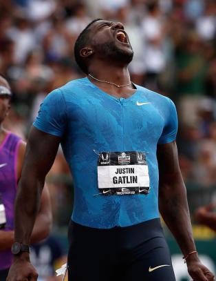 N� har bare fire l�pt raskere enn Justin Gatlin