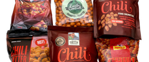 Vet du hva du f�r i deg?  Chilin�tter er innbakt i fett, salt, stivelse og sukker