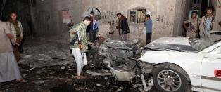 Bilbombe skadet s�rgende i Jemens hovedstad