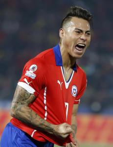 Vargas den store helten da Chile tok seg til Copa America-finalen