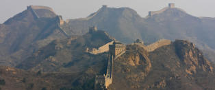 Den kinesiske mur forsvinner