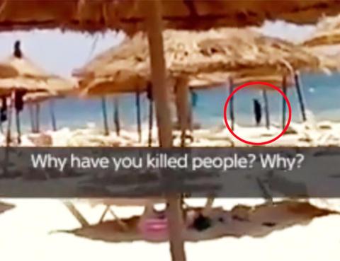 Hotellmedarbeider fulgte etter drapsmannen under terrorangrepet i Tunisia