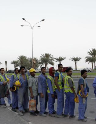 Amerikansk storaviser legger seg flat etter formulering om d�de arbeidere i Qatar