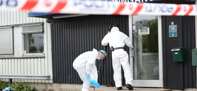 Mann i 70-�ra drepte kollega. Etterp� fant politiet skytteren d�d i en garasje