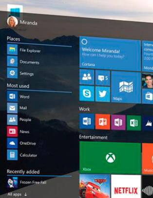 Pr�v nye Windows 10 uten risiko