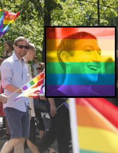 Farget du profilbildet ditt med regnbueflagget i helga?