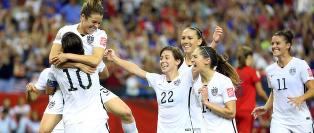 USA til VM-finale etter at tyskerne misset