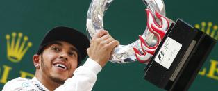 Formel 1-f�reren klager p� �sjokkerende d�rlige� seierstrofeer