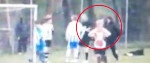 Fotballpappa d�mt for overfall etter dette dommerangrepet