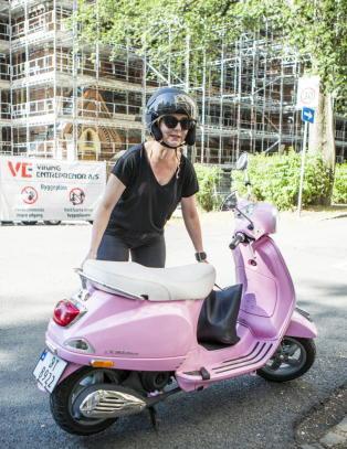Linn Sk�ber ut mot Oslotrikken: - Jeg er livredd