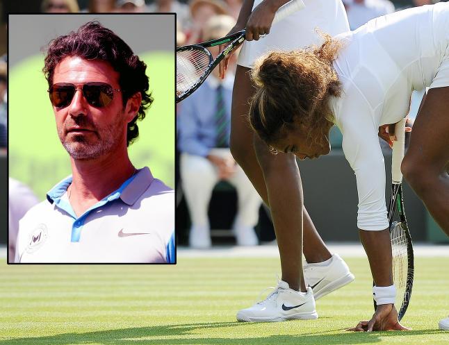 Kollapset og gr�t under siste Wimbledon. N� pekes treneren ut som grunnen