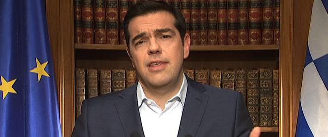 Tsipras tilbake p� Twitter: - Stem nei p� s�ndag, s� forhandler vi p� mandag