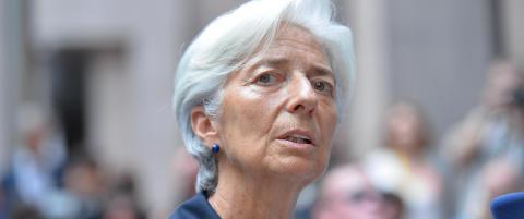 IMF-sjefen om Hellas-krise: Reform f�r gjeldslettelse