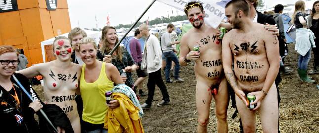 Det ble nakenl�p p� Roskilde i �r, igjen!