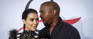 - Kanye og Kim spiller Gud. Det er helt greit