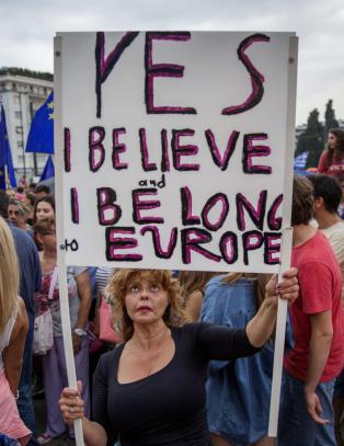 Angsten for � falle ut av Europa