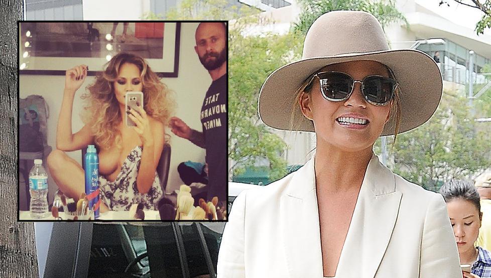 Supermodell Chrissy Teigen i puppekrig mot Instagram - Kjendis
