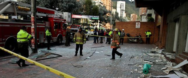 Flere skadd i eksplosjoner i Colombia