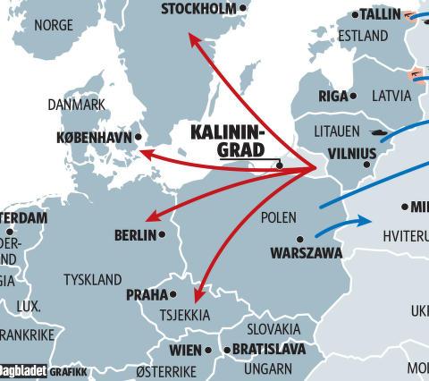 Slik kan Ukraina-krigen spre seg n�rmere Norge