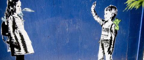 Bruker barnehager til gatekunst i ny barnebok
