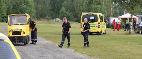 Ti�ring alvorlig skadet da barne-tog veltet i Telemark