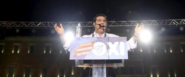 EUs framtid ligger i greske hender