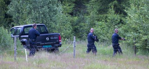 Politijakt i Telemark: To personer tatt med luftgev�r
