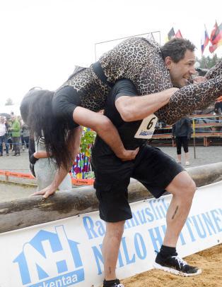 Mannlig par deltok i VM i koneb�ring