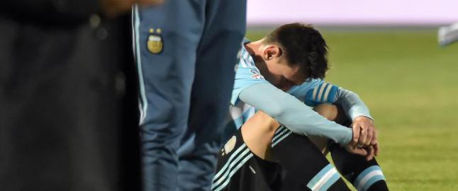 Ikke denne gangen heller, Messi!